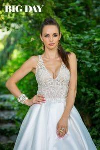 Különleges Cosmobella menyasszonyi ruhában Dobó Ági.