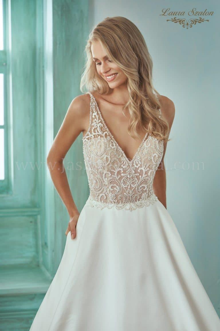 Meseszép Jasmine Collection menyasszonyi ruha.