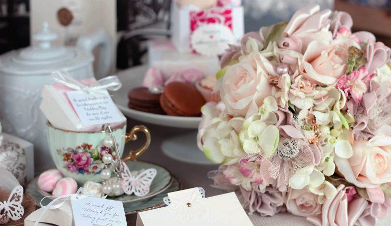 Menyasszonyi virágcsokor.