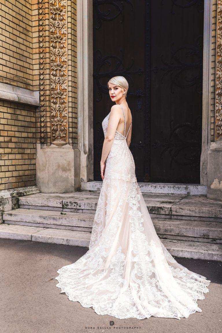 Elégedett menyasszony, Jasmine Couture ruhában!