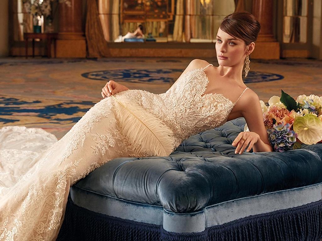Demetrios Platinum menyasszonyi ruha DP449
